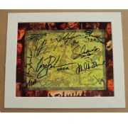 Lord Of The Rings Signed Movie Photo - Signed by Cast (x11)